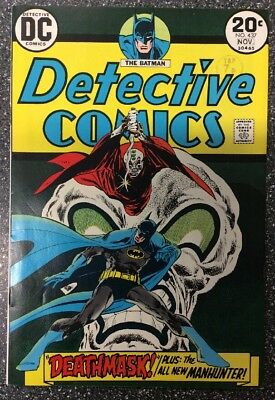 Detective Comics #437 (1973) 1st Appearance Of Goodwin/Simonson Manhunter.