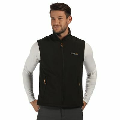 Regatta Softshellweste Weste Softshell Bradwell B/W II black (iron) M-4XL - SALE
