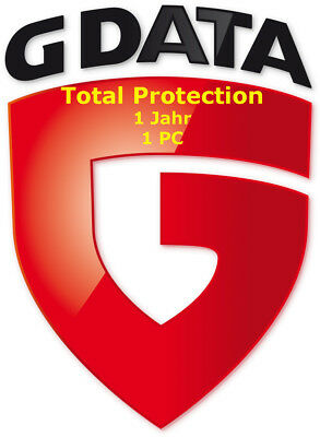 G-Data Total Protection - Total Security 1-Jahr 1-PC