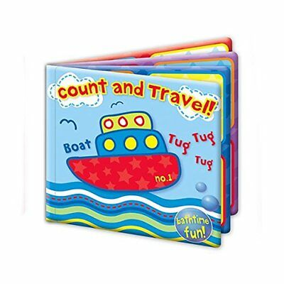New Baby Kids Bath Book Floating Plastic BathTime Fun Educational Learning Toys
