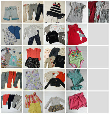 Girl clothes - 18-24 months - Bundle of 50 items