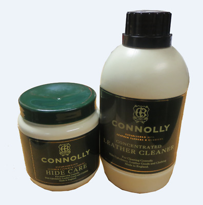 Connolly Hide Food And Connolly Cleaner