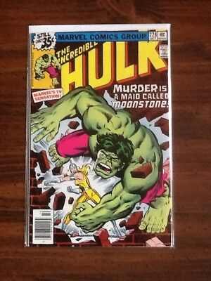 The Incredible Hulk #228VF+ (1st Appearance Moonstone).
