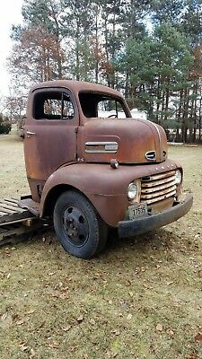 1950 Ford Coe  1950 Ford COE Cabover Truck Snub nose Project