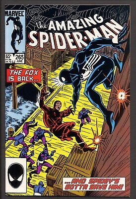 Amazing Spiderman #265 (1985)~1st Silver Sable appearance~NM