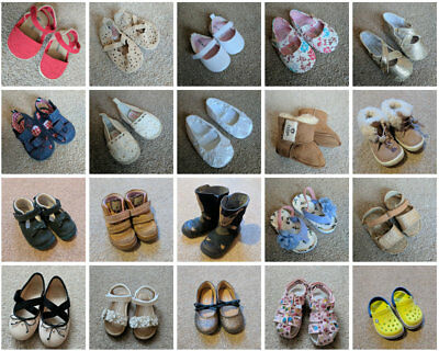 Baby girl shoes 0-2Y