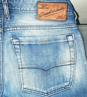 *HOT! AUTHENTIC Men's DIESEL @ ZATINY 8AR Regular BOOTCUT DISTRESS Jeans 32 x 28