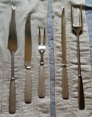 Capri Italian Cutlery 5 Piece Grillmaster Carving Set - never used