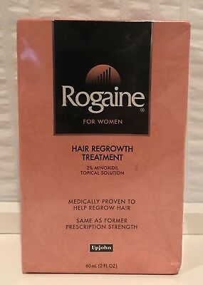 Vintage Rogaine for Women Hair Regrowth Treatment Sealed Box