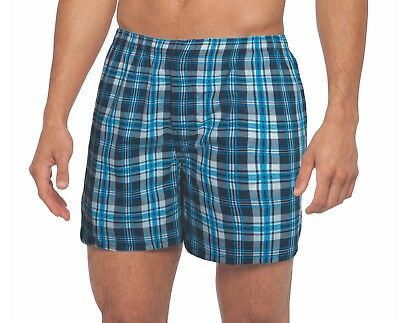 Men's Gildan Boxers, Choose Size  Large & Med (5-Pack) OR 2XL (4-Pack) Assorted