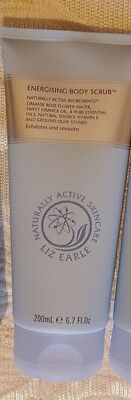 liz earle energising body scrub 200ml