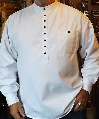 Grandad Shirts another superb Quality Kaboo Original in Cotton Drill S to XXL