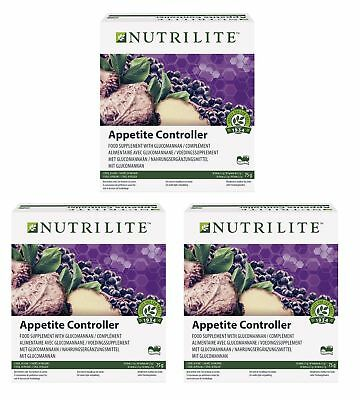 3x NUTRILITE™ Appetite Controller (90 x 2.5g) / Appetitzügler / Amway