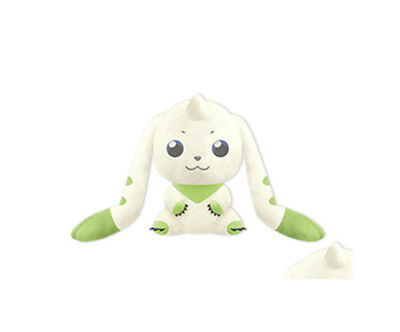 NEW Digimon I Love Terriermon Version 3 Eyes Open Plush 24cm BANP37785 US Seller