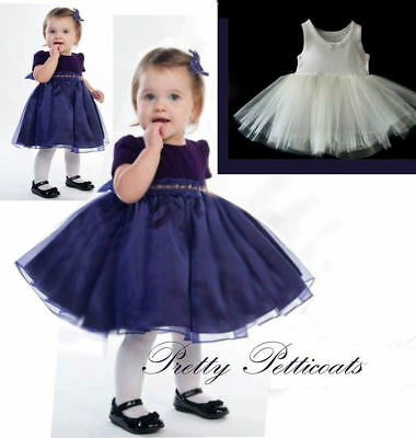 Baby Kids Petticoat Party Dress Net Underskirt Tutu  Crinoline
