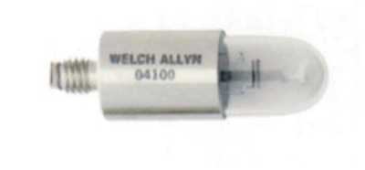 Real Welch Allyn Brand Replacement Bulb #04100-U 14.5V Halogen Lamp For 48400
