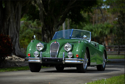 1955 Jaguar XK manual 1955 Jagar XK 140 Convertible