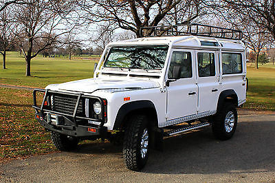 1993 Land Rover Defender  1993 Land Rover Defender US specification