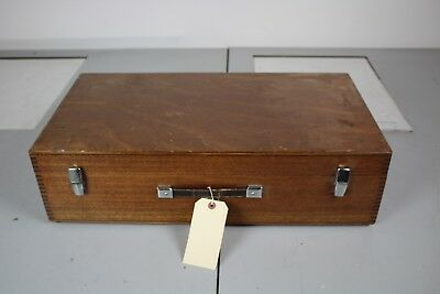 Hilger and Watts SB180-2  with Light holder in Wooden Box