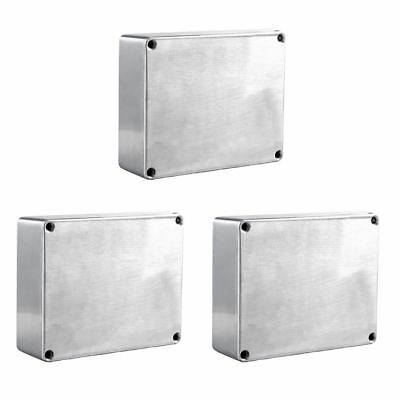 1590BB Aluminum Metal Stomp Box Case Enclosure Guitar Effect Pedal Pack of 3 V3U