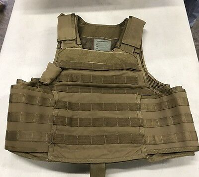 AWS Inc. Releasable Plate Carrier Coyote Brown CAG DELTA SEALS Sz:LARGE NWOT