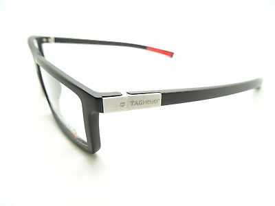 Tag Heuer Urban 7 TH0512 001 Glasses Matte Black Red,Spectacles,GLASSES,FRAMES