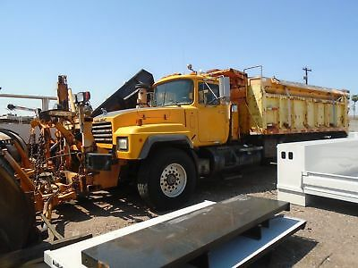 1997 Mack RD688S - Dump Truck/Plow/Spreader ready to roll. 1 owner, state of AZ.