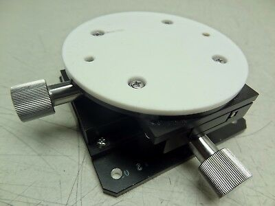 Ncr Linear Precision Optical X / Y Stage W/ Observation Plate & Mounting Base