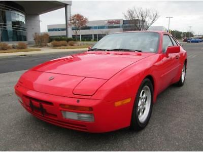 1986 Porsche 944 Turbo 1986 Porsche 944 Turbo 5 Speed Manual Red Low Miles Fully Serviced Rare Find