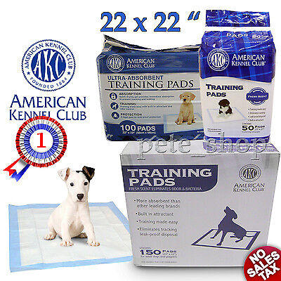 """Puppy Potty Training Pads 22x 22"""" Dog Pet Absorbing Pee Wee Wee Underpads Piddle"""