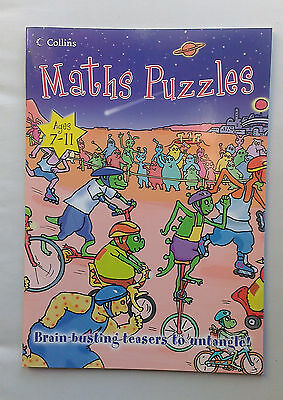 Maths Puzzles  (Rare Book - New) for 7 - 11 year olds