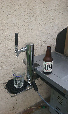 Draft Beer Tower Single Clamp on Portable Events