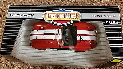 Ertl 1966 American Muscle Ford Shelby Cobra 1:18 Diecast Car