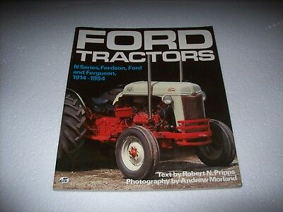 Book on Ford Tractors NSeries, Fordson, Ford & Ferguson 1914-1954 Published 1990