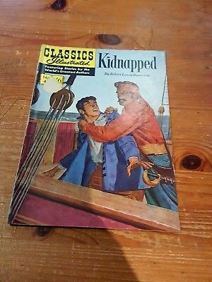 Classics Illustrated Comic 1965 Kidnapped by Robert Louis Stevenson
