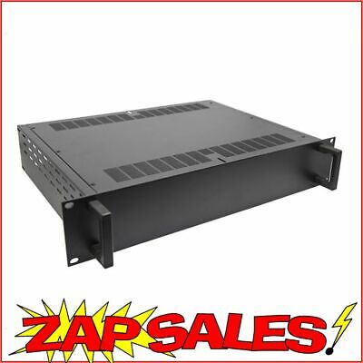 5% off with P5OFF: 2 Unit - Pro Grade 19inch Rack Style Equipment Enclosure