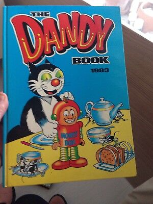 The Dandy Book 1983 Annual - Hardback Book