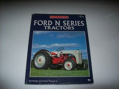 Book on Ford N Series Tractors-Originality Guide -1997- Motorbooks International