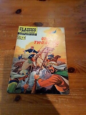 CLASSICS ILLUSTRATED  No. 86 - UNDER TWO FLAGS