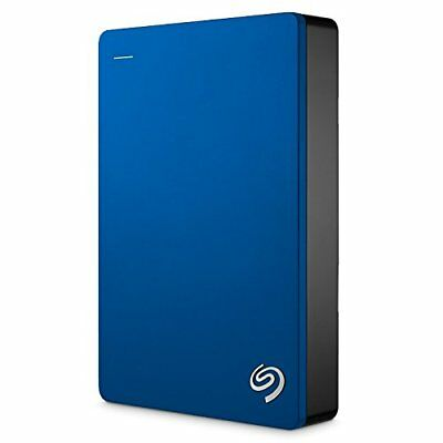 "Seagate 5TB Backup Plus Portable 2.5"" HDD Hard Drive USB 3.0 Powered - Blue"
