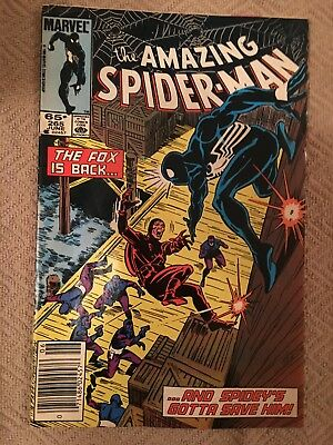 Marvel THE AMAZING SPIDERMAN #65 June 1984 (1st SILVER SABLE appearance)