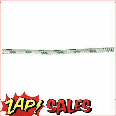Double Braid-Polyester Rope,8mm,Green Fleck,Euro,100m Roll