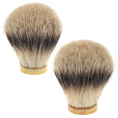 20 21 22 24mm Badger Silvertip Shaving Brush Hair Knot Head DIY Wet Shave Tool
