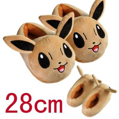 Anime Cosplay Pokemon Go Pikachu Snorlax Plush Slippers Warm Home Indoor Shoes