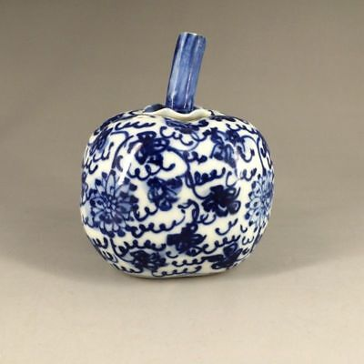 Ancient Chinese ceramics painting pumpkins droplets by hand