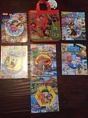 Nickelodeon Look-and-Find 6 Book Set