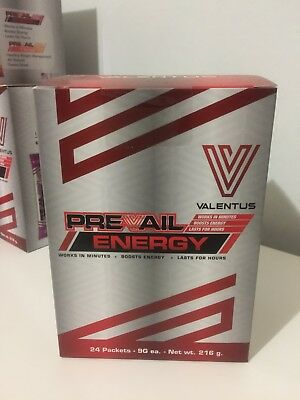 Valentus Prevail Energy Drink CHEAP!! (RRP per box is $90)