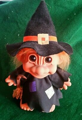 Vintage Russ Troll Doll LARGE WITCH
