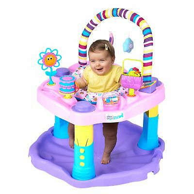 NEW Baby Infant Bouncer Walker Seat Jumper Activity Swing Exercise Girl Toddlers
