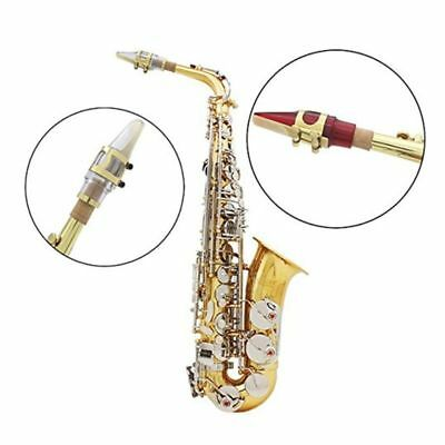 1Pc Durable Acrylic Alto Saxophone Mouthpiece Sax Playing Musical Accessories